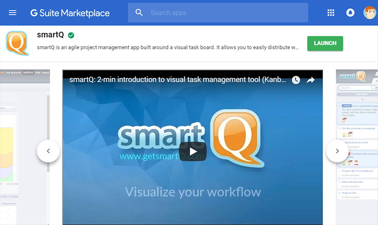 smartQ for G Suite
